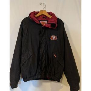 VNT 49Ers Carl Banks Bomber jacket